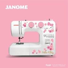 janome sewing mahine hello kitty