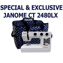 Janome ct2480lx Mesin jahit Portable kelas heavy d