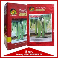 Benih Terong hijau hibrid ARWANA F1 1
