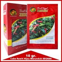 Benih Cabe Rawit Hijau SEGANA 10 gr. 1