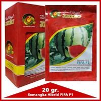 Jual Benih Semangka Bulat FIFA  F1 20 gr.