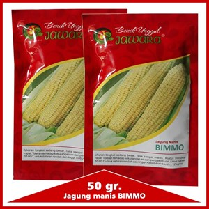 Benih jagung manis BIMMO 50 gr.