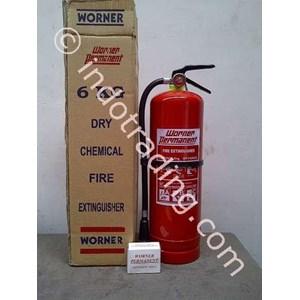 Pemadam Api Portabel Worner 6Kg Powder