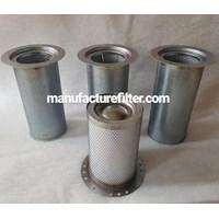 Oil Separator Kompressor Merk DF FILTER PN. DF 350/325-210-660