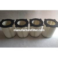 Fiberglass Dust Collector Pleated Cartridge Filter For Air Filter