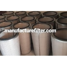 Industrial Dust Cartridge Filters  / Conical Dust
