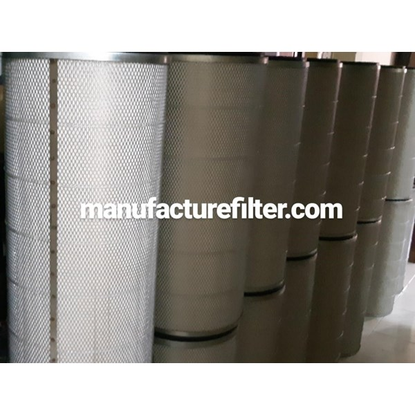 Industrial Dust Cartridge Filters / Conical Dust Filter Cartridge