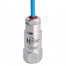 HS-100T Series Dual Output Oil Resistant & Submersible Cable Industrial Accelerometer