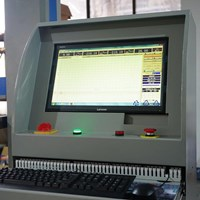 Paper Box Compression Testing Equipments HD-A502S-2000 1