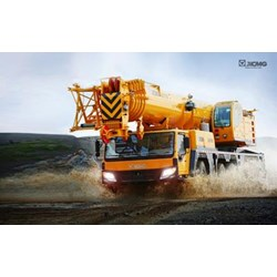 High-performance load moment indication and control solution for all-terrain crane