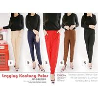 Jual Legging Kantong Polos Jumbo 1.2.3.4.5