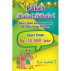 Halal Bi Halal Package 2016 By Hotel Trio Indah 2 Malang