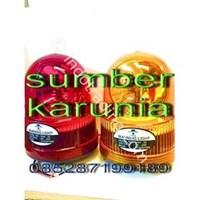 Distributor Lampu Rotari 6 inch DC Kuning 3