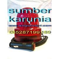 Distributor Lampu Rotari Magnet 4 inch Merah 3