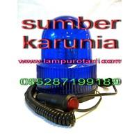 Jual Lampu Rotari Magnet 4 inch Merah 2