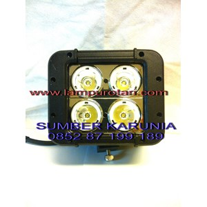 Lampu Sorot 4 Led Focus
