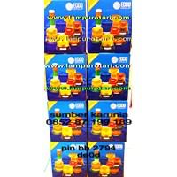 Jual Lampu Rotari Led 6 inch Biru 2