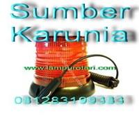 Distributor Lampu Rotari Led 6 inch Biru 3
