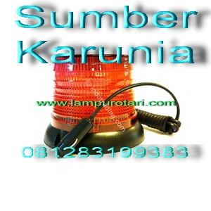 Dari Lampu Rotari Led 6 inch Biru 2