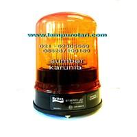 Distributor Lampu Rotari 6 inch BRITAX Amber 3
