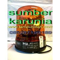 Lampu Rotari 6 inch BRITAX Amber 1