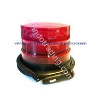 Lampu Rotari LED Merah 6 inch 12V 1