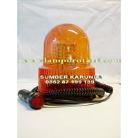 Distributor Lampu Rotari 6 inch Merah 24V  3