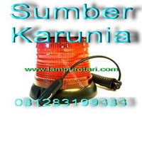 Jual Lampu Strobo 6 inch ECCO 6570 2