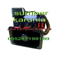 Distributor Lampu Rotari 4 inch 12V Merah 3