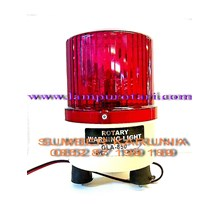 Rotary Lights Red 12V 4 inch