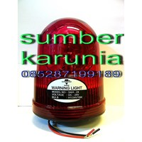 Lampu Rotari 6 inch Merah merk Diamond 1