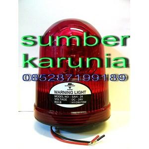 Lampu Rotari 6 inch Merah merk Diamond