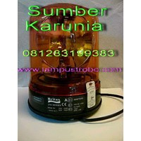 Lampu strobo 6 inch Senco Amber Murah 5