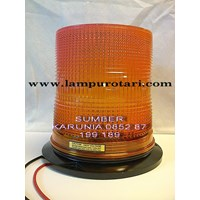 Lampu strobo 6 inch Senco Amber 1