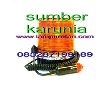 Lampu Strobo Kuning 3 inch 12V - 24V