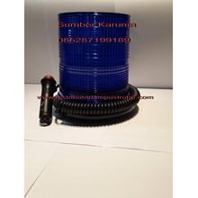 Lampu Strobo 6 inch led Biru