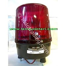 Lampu Rotary 6 inch Merah 12V