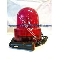 Distributor Lampu Rotari 4 inch Merah 3