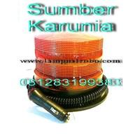 Distributor Lampu Rotari 4 inch DC Merah 3