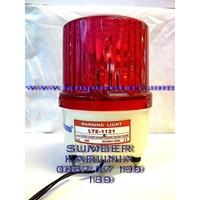 Lampu Rotari 4 inch DC Merah Murah 5