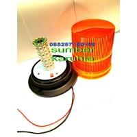 Distributor Lampu Rotary BRITAX 12V - 24V DC Amber 3