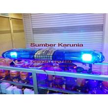 lampu strobo polisi - Lampu Lightbar Polisi 12V Biru - Biru