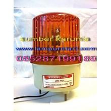 Lampu Rotary AC 220V Kuning 4 inch
