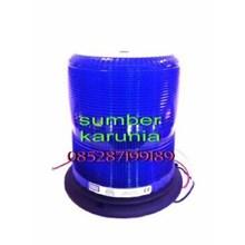 Lampu Strobo ECCO 6570 Biru 12V - 48V