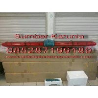 Jual Lightbar Rotator 24V Merah-Merah Led 200cm 2