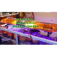 Beli Lightbar Rotator 24V Merah-Merah Led 200cm 4