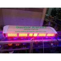 Jual Lampu Strobo Dashboard 3 bar 12V led 2