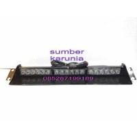 Lampu Strobo Dashboard 3 bar 12V led 1