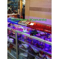 Beli Lampu Strobo Dashboard 3 bar 12V led 4