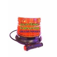Lampu Blitz Strobo Polisi Magnet 12V 4 Inch